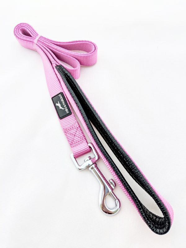 image of a pink dog lead