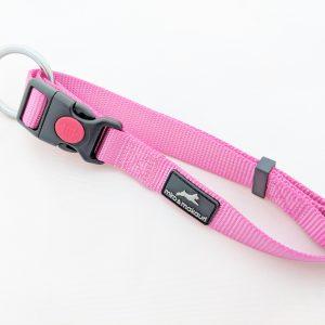 image of a pink dog collar