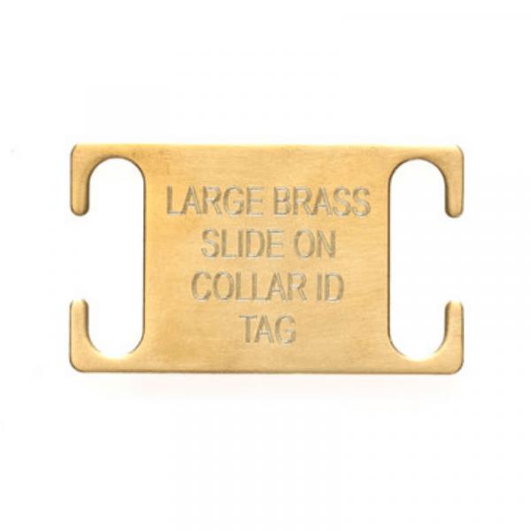 Brass Slider Tag