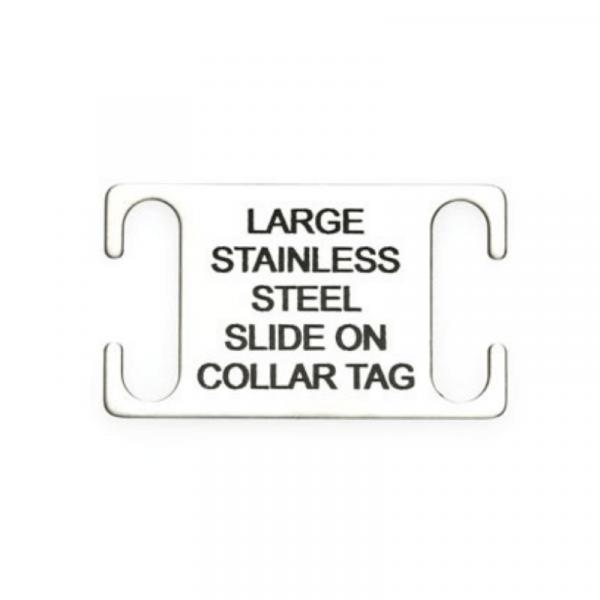 Stainless Steel Slider Tag