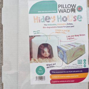 Cardboard Hidey House