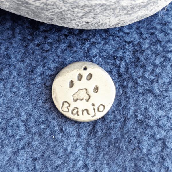 Single Paw Print Charm