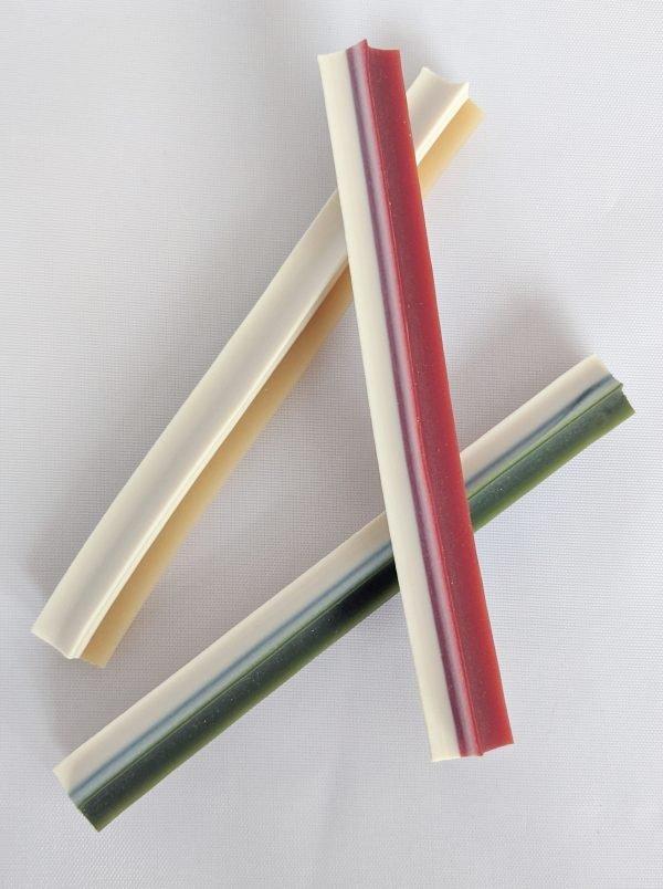 vegetarian dog treats - star sticks from Mak's Patch