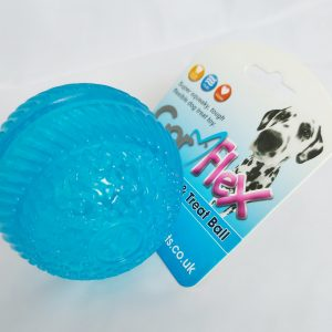 Squeaky Treat Ball – Gor Flex