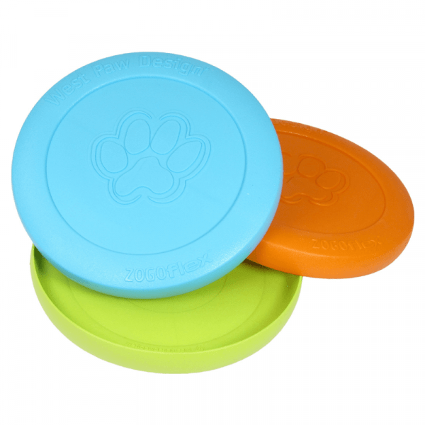 all three colours of zogoflex zisc with the inside and outside showing