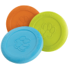 a group of zogoflex ziscs in each colour: blue, green & orange