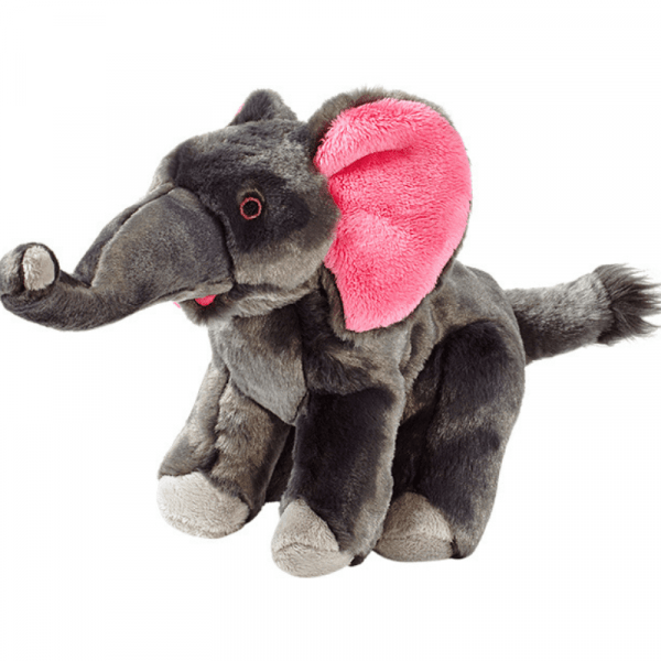 edsel elephant plush dog toy