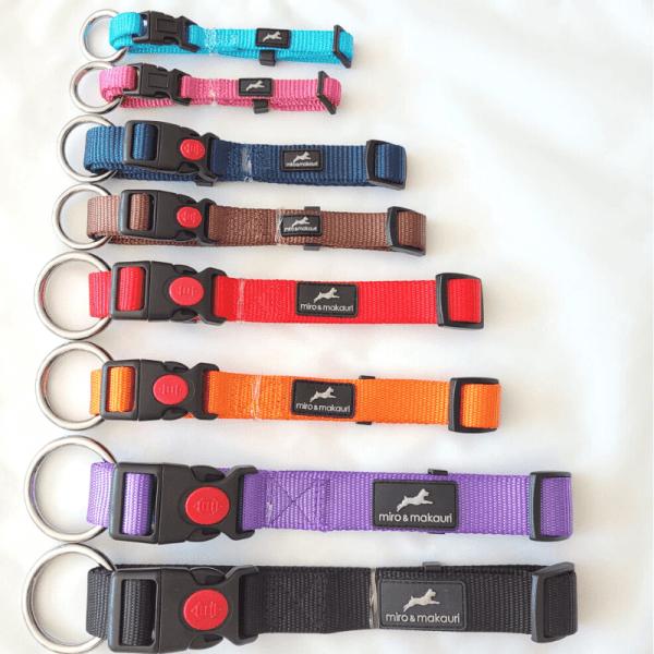 Adjustable Nylon Dog Collar – Miro & Makauri