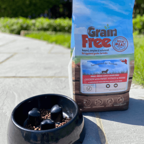 Grain Free Adult Dog Food (Small Breed) – Chicken